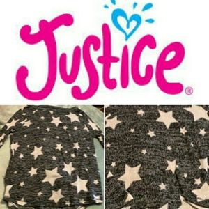 Justice Star Sweater Light Weight